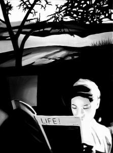 Life!, acrilico su tela 30 X 40 cm, 2013