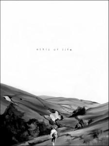 Ethic of life, acrilico su tela, 60 X 80 cm, 2014