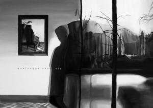 Qualunque cosa sia, acrilico su tela, 70 X 50 cm., 2014