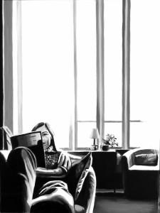 Quiet life, acrilico su tela, 30 X 40 cm, 2013