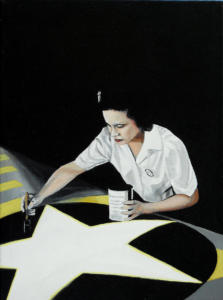 Work-Ethics,-acrilico-su-tela,-30-X-40-cm