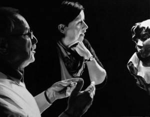 Gerhard und Gina, acrilico su tela, 50 X 40 cm., 2016