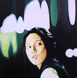 Correspondences (Tokyo), acrilico su legno, 2008