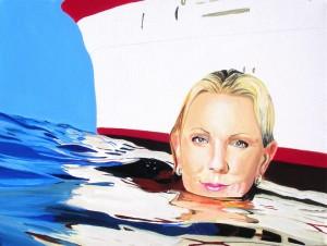 Senza titolo, acrilico su tela, 30 X 40 cm, 2010